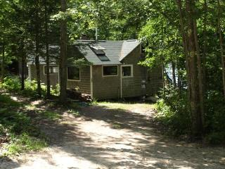 The cabin and parking