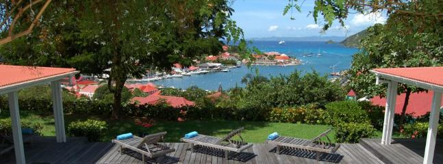 4 Bedroom Villa on the Hillside of Gustavia