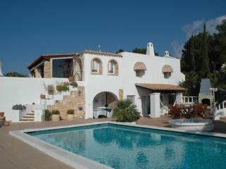 IBIZA 6 bedroom Villa views to sea & Formentera, Ibiza