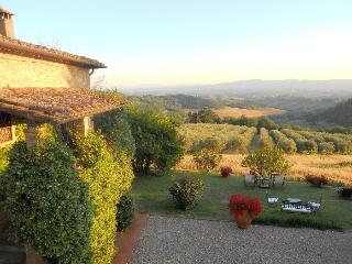 Villa la Torre Chianti vacation villa fore rent - Holiday villa in the Chianti near Florence and Siena