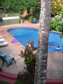 Garden Pool Setting