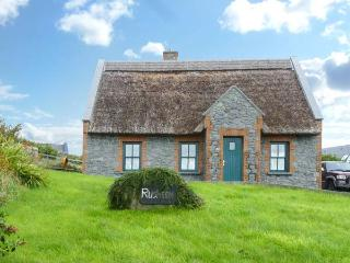 RUSHEEN COTTAGE, pet friendly, character holiday cottage, with a garden in