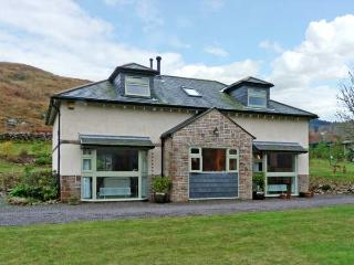 GLEN EUCHAR HOUSE, family friendly, luxury holiday cottage, with hot tub in