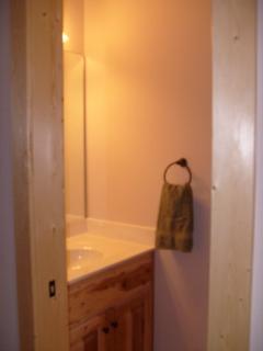 Half bath on the main floor