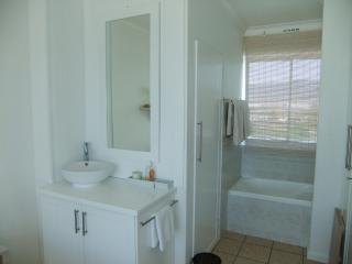 Basin, bath and shower
