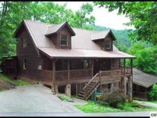 4 bedroom gatlinburg cabin with community pool