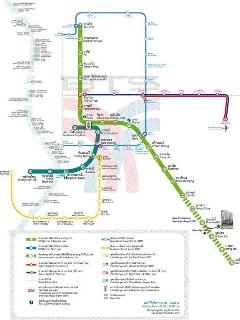 The BTS-MRT map