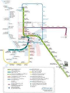 The BTS-MRT map