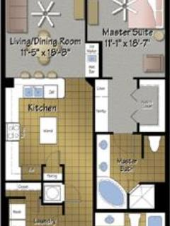 Floor plan Unit 506