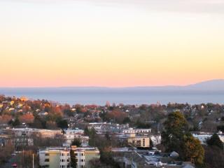 Panoramic View of Juan de Fuca Strait