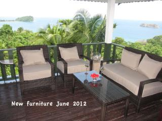 Balcony view south - new furniture June 2012