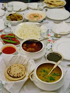 an indian meal