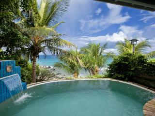 Romantic Beachfront Honeymoon Villa/Very Private !, Virgem Gorda