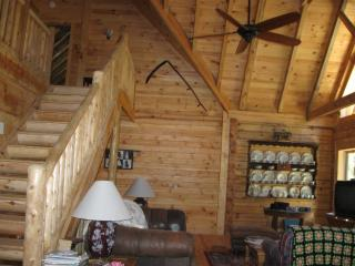 Beautiful upscale log cabin sleeps 8