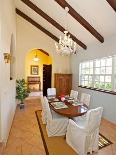 Formal Dining Area with adequate seating for 6 or more
