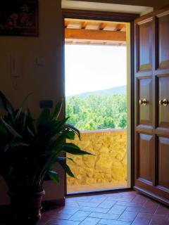 Relax & Love in Tuscany: view of Tuscany from the House
