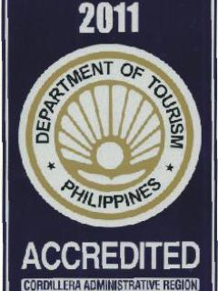 Philippines Dept Tourism Accredited