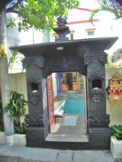 Entrance Gates Villa #6