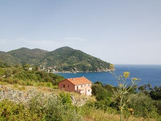 Farmhouse Near the Beach and Town with Sea Views - Villa Levanto