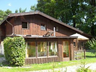 LLAG Luxury Vacation Home in Bischofswiesen - relaxing, wonderful views of the alpine meadows, corrals,…