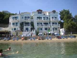 Filoxenia Beach Apartment on top of the beach