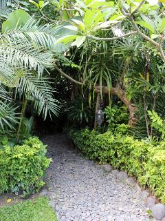 Pathway to entrance