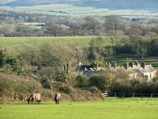 HILL FARM COTTAGE, pet friendly, character holiday cottage, with a garden in Freshwater, Isle Of Wight, Ref 12722