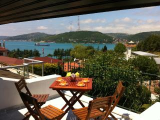 Bosphorus View Villa 4 BR / 2 BT Private Garden