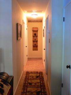 Hallway View to Bedrooms