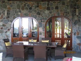 Covered outdoor dining