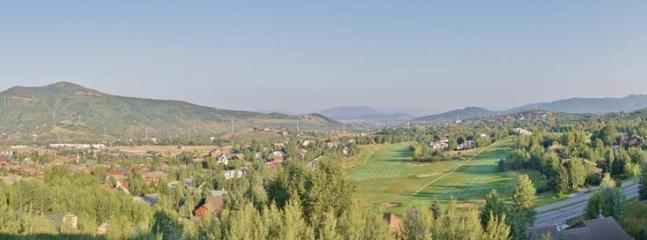 Western Panoramic Views Include Sunsets over Emerald Mountain, Rollingstone Ranch Golf Club & the Ski Touring Center