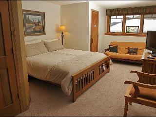 Large Master Bedroom - King, HDTV, Futon & Private Sauna!
