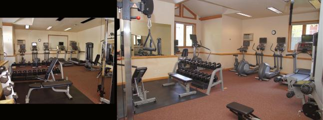 Full Fitness Center, Brand New in 2009, Includes Free Weights, Machines, Balls, Mats, and AC