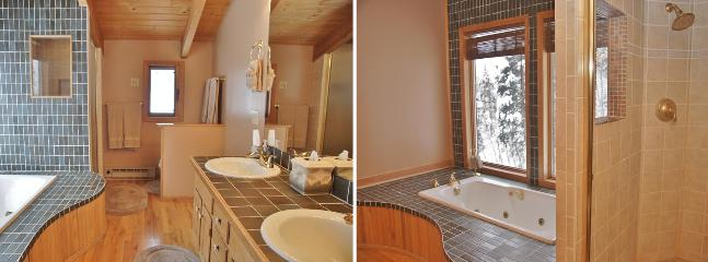 Master Bath - His & Hers sinks, Jacuzzi Tub & separate Shower