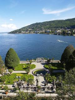 Stresa garden of Isola Bella