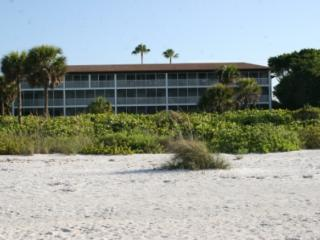 White Sands #13 Gulf front condo on Sanibel Island