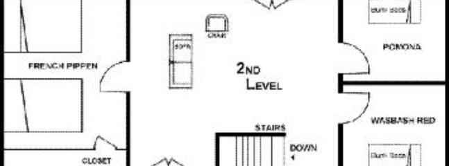 Rochmbeau Floor Plan Second Floor