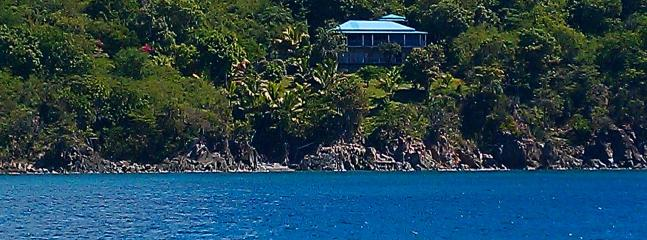 Bluebitch St. John is secluded, tranquil yet minutes from Cruz Bay.