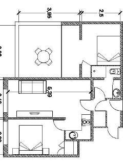 Apt 1 - floor plan