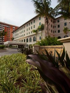 The Vanderbilt Hotel, the only 5* hotel in Condado and its just in front of the building!!!!!