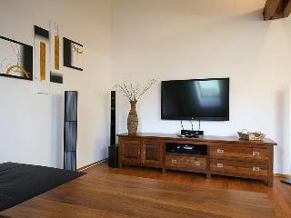 Living room - Luxury Attic Klimentska - Old Town - Prague