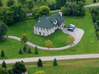 4000 sq. ft. English-style stone house
