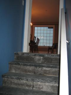 Flagstone Stairs lead to Games Room, Theatre Room...