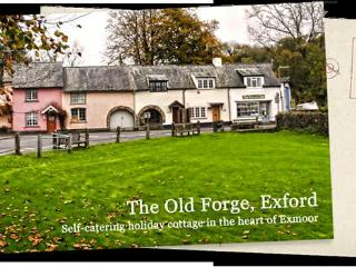 'The Old Forge' Cottage in the Heart of Exmoor, Exford