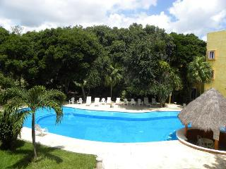2 BR Condo with Golf Course View next to Reef Club, Playa del Carmen