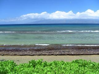 10ft from Ocean, 2 Bedrm Beachfront $150,000 Reno!, Lahaina