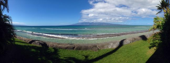 Panoramic view from lanai. Imagine waking up to this every morning.