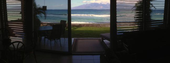 Every view from this condo is beautiful. Experience a true ocean front condo.