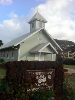 Honokowai's Historic Lahuiokalani church.  200 yards from the condo.