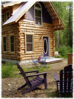 Talkeetna Cottages Moonflower Cabin